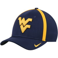 West Virginia Mountaineers Nike 2017 AeroBill Sideline Swoosh Coaches Performance Flex Hat - Navy