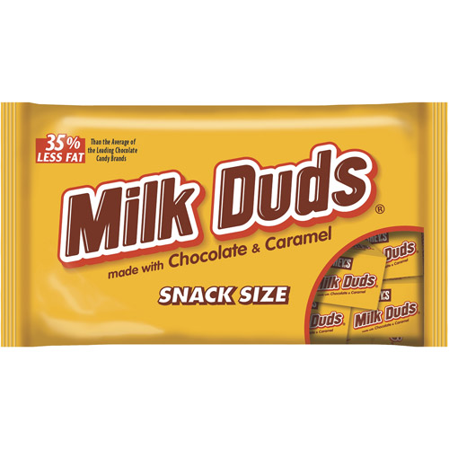 Milk Duds Halloween Snack Size Candy, 9.3 oz
