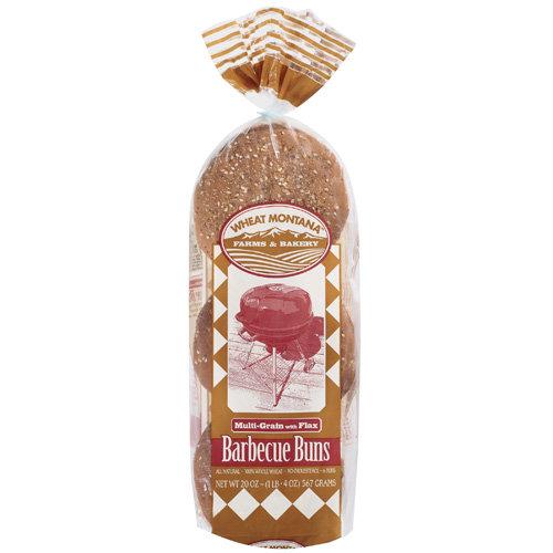 Wheat Montana Multi Grain And Flax Bun