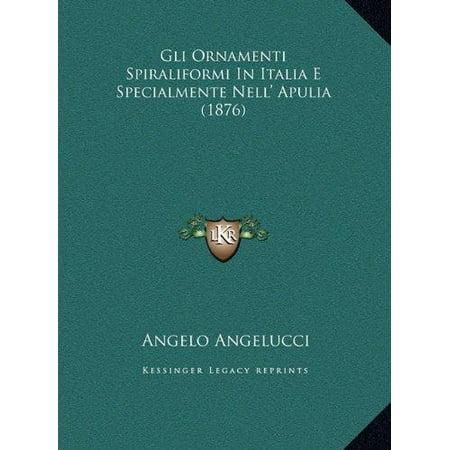 Gli Ornamenti Spiraliformi in Italia E Specialmente Nell' Apulia (1876) - image 1 de 1