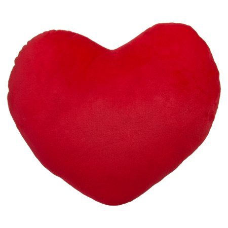 Royal Deluxe 12 Inch Soft Plush Red Love Heart Emoji Pillow Fun Emoticon  Cushion Toy