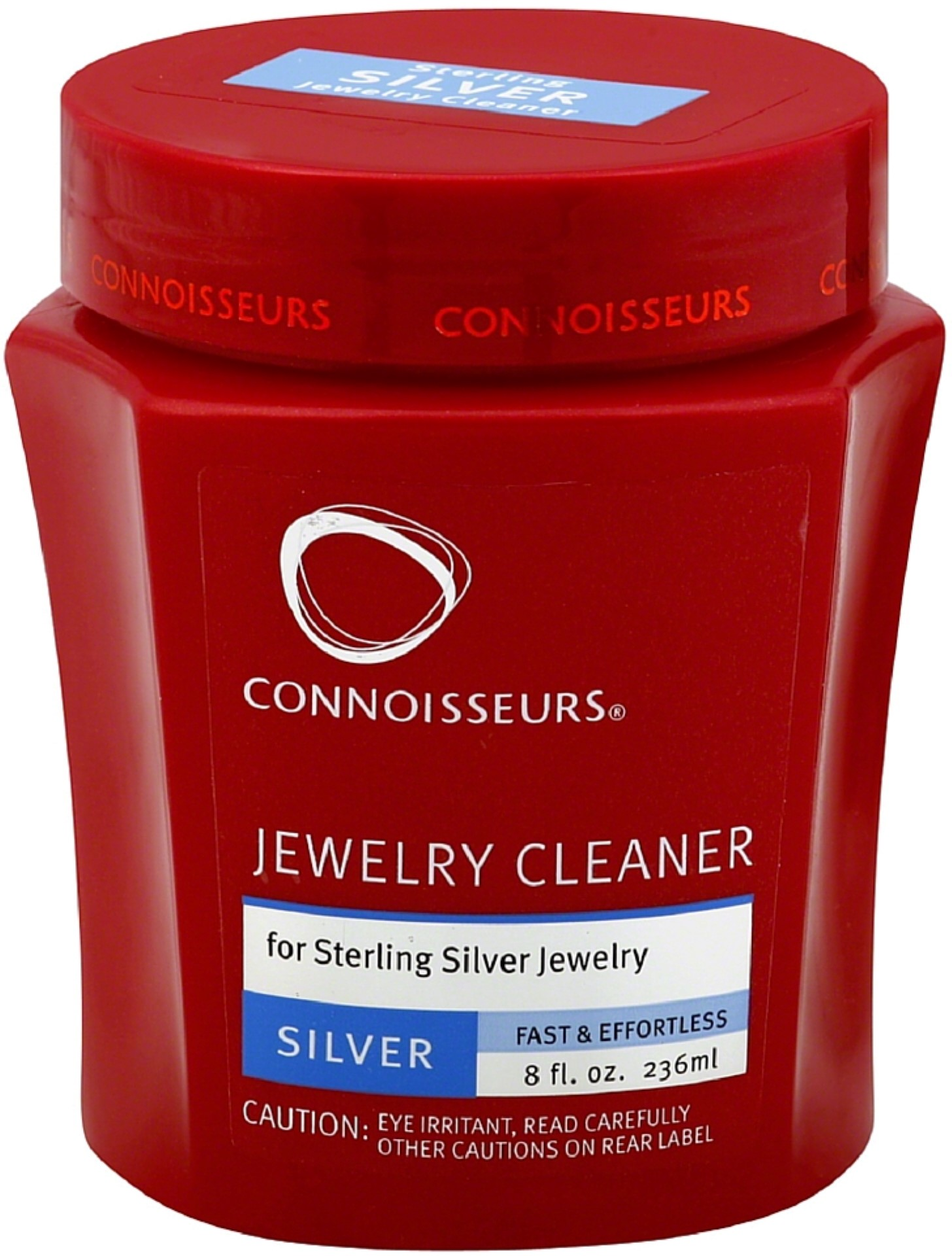 Connoisseurs Silver Jewelry Cleaner 8 oz (Pack of 3)