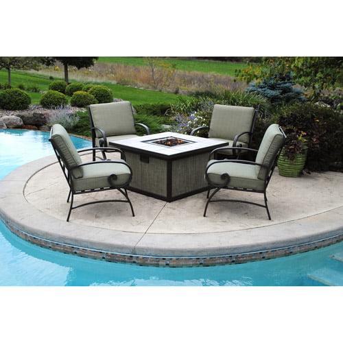 Better Homes and Gardens Pine Cove 5Piece Patio Conversation Set