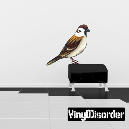 Bird Wall Decal Vinyl Car Sticker Uscolor018 25 Inches