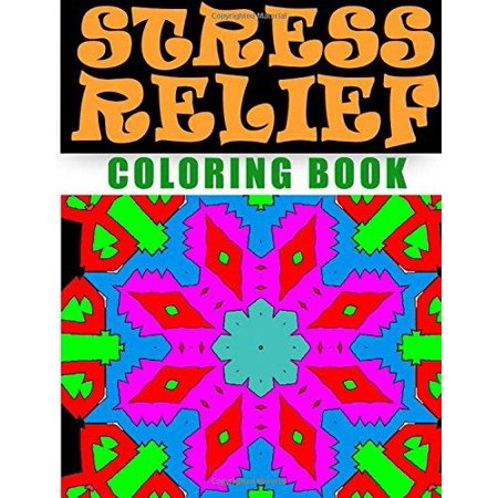 Stress Relief Coloring Book Volume 9 Adult Relieving Patterns