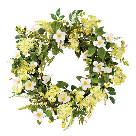 Irish Greenery Spring Wreath (Personalized Door Wreath)