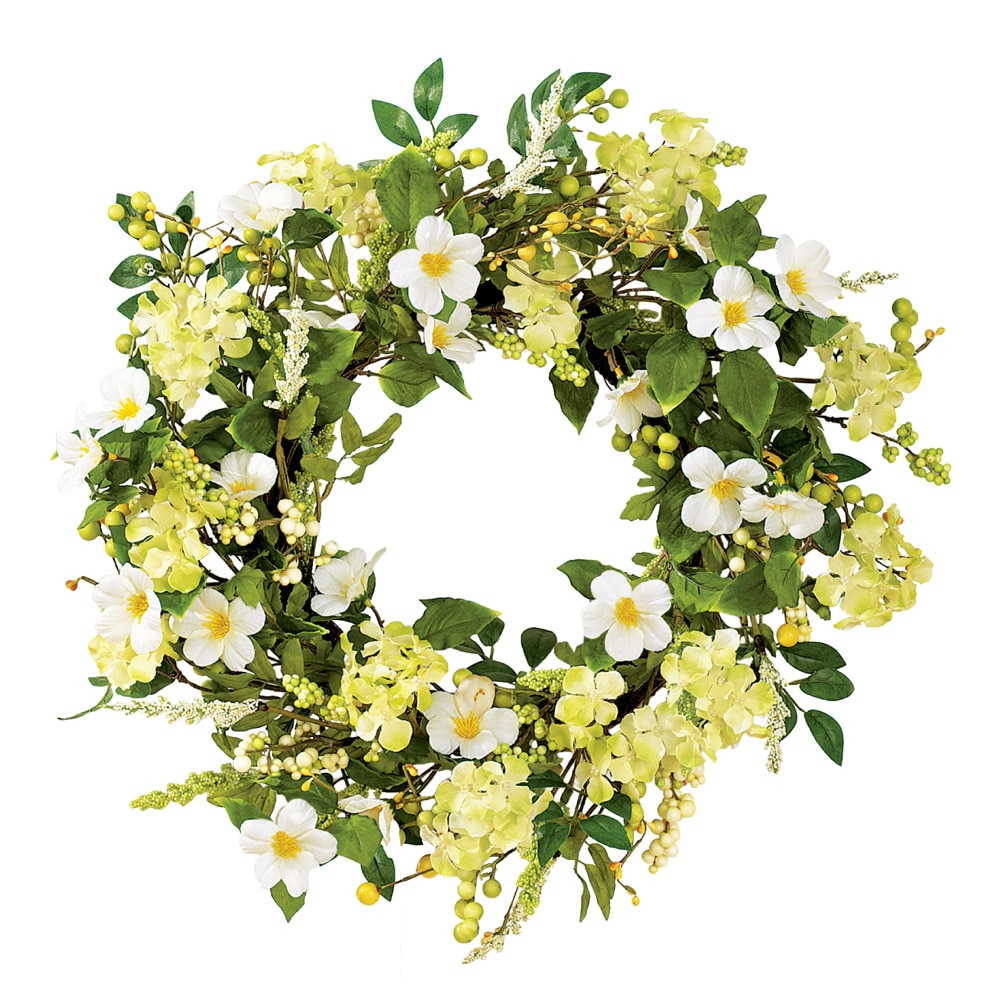 Irish Greenery Spring Wreath
