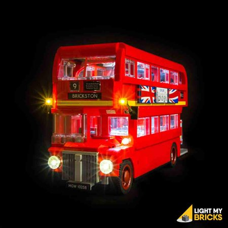 LIGHTING KIT FOR LONDON BUS 10258 (BUILDING SET NOT INCLUDED) BY LIGHT MY BRICKS ()