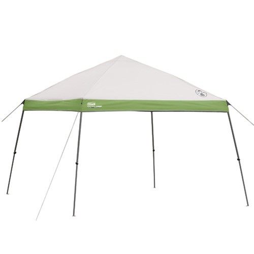 Coleman 10' x 10' Slant Leg Instant Canopy   Gazebo (100 sq. ft Coverage) by Coleman Camping