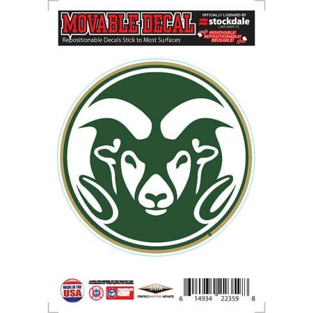 Colorado State Rams Repositionable Vinyl