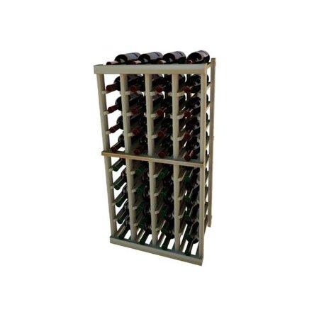 - Wine Cellar Innovation Premium Redwood Vintner Series 4 Column Individual Rack, 3 ft.