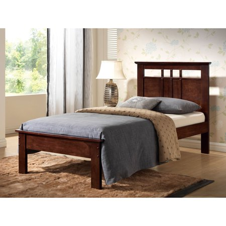 Cappuccino Cal King Bed (Acme Donato Twin Bed, Cappuccino )