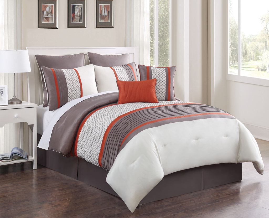 Bed In A Bag W 500tc Cotton Sheet Set