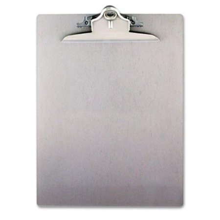 12 Capacity Letter (Saunders 22517 Recycled Aluminum Clipboard with High Capacity Clip - Letter Size - 8.5 x 12 inches)