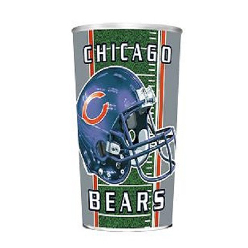 Majestic NFL Chicago Bears 32-Ounce Plastic Cup