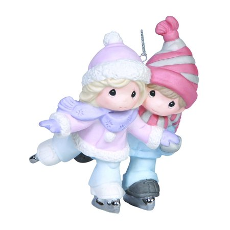 - Company Couple Skating Ornament By Precious Moments