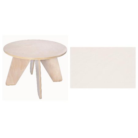 nouvelle arrivee f30af d20c0 Sodura AOTA-WW White Aero Kids Table
