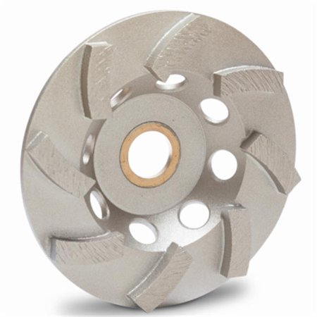 - 4 in. Cup Wheel Turbo
