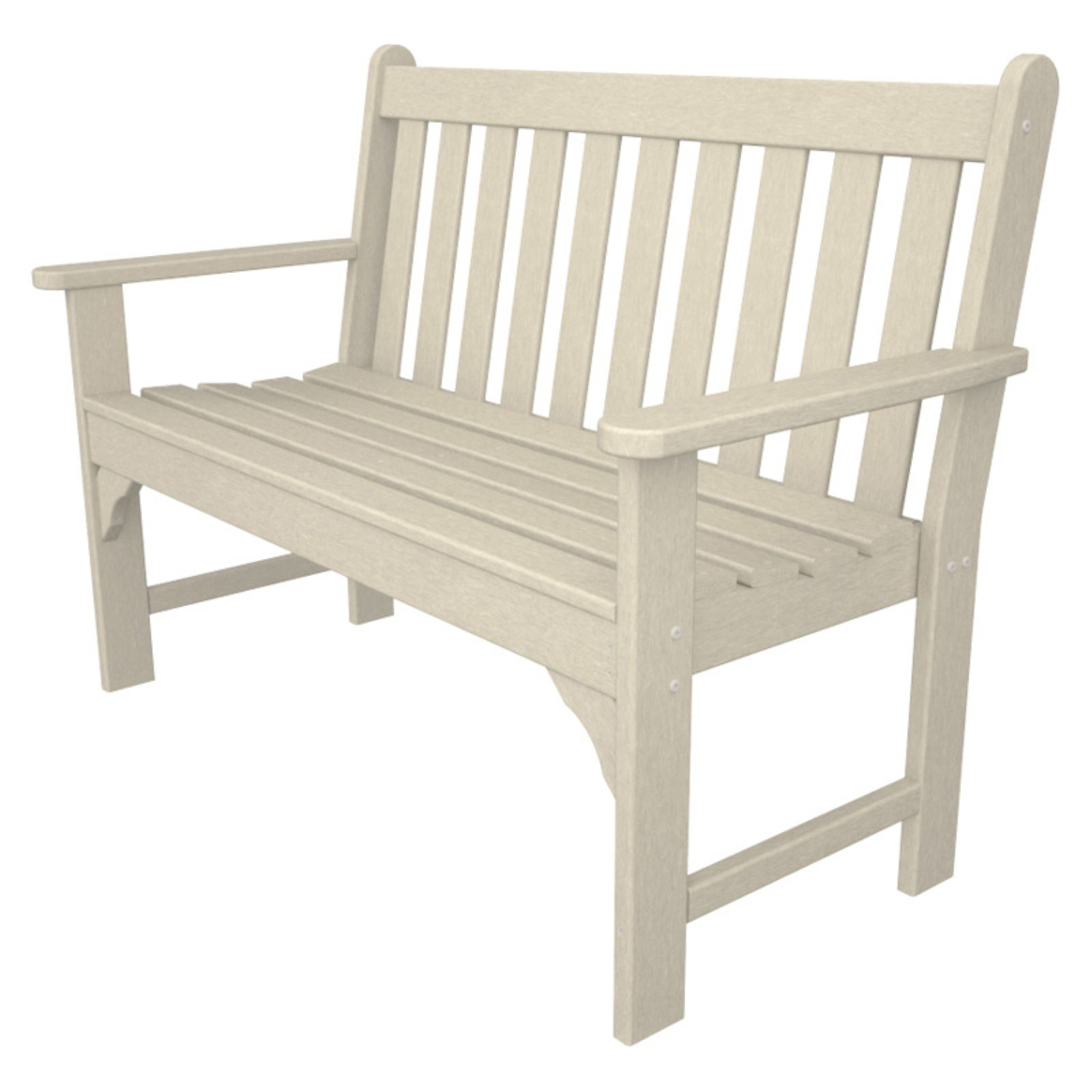 POLYWOOD Vineyard Recycled Plastic Garden Bench by Polywood