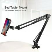 Flexible Phone Holder, 360 Degree Rotating Aluminum Bed Tablet Mount Holder Stand for 4-10.5in