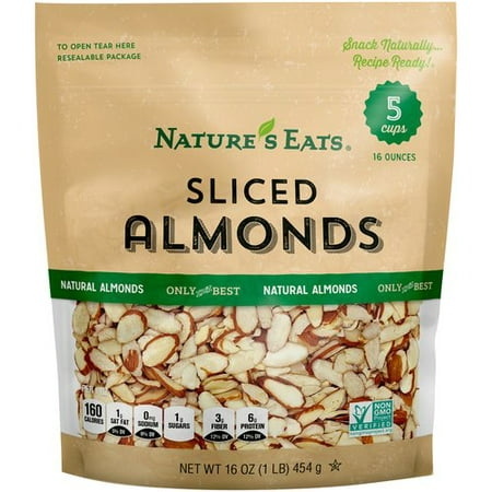 Almond Slices (Nature's Eats Sliced Almonds, 16)
