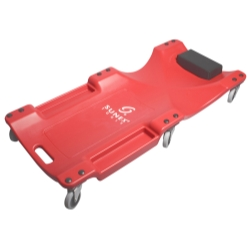 CREEPER PLASTIC 6 WHEEL 40 INCH RED
