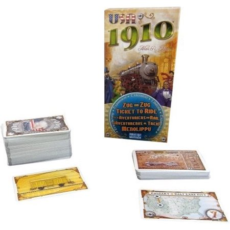 Ticket To Ride: 1910 Expansion, This is an expansion to the Ticket to Ride games, not a standalone game By Days of - Reading Halloween Games