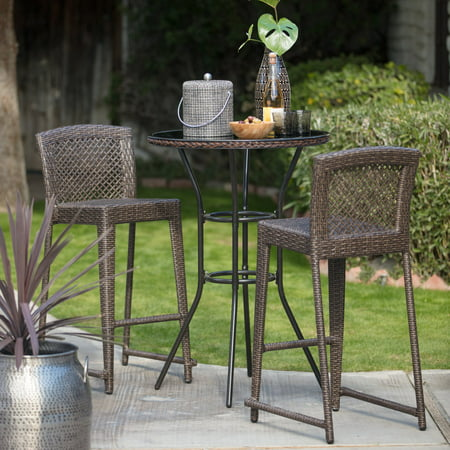 Bar Height Patio Dining Sets (Coral Coast Brisbane Patio Dining Bar Height Bistro)
