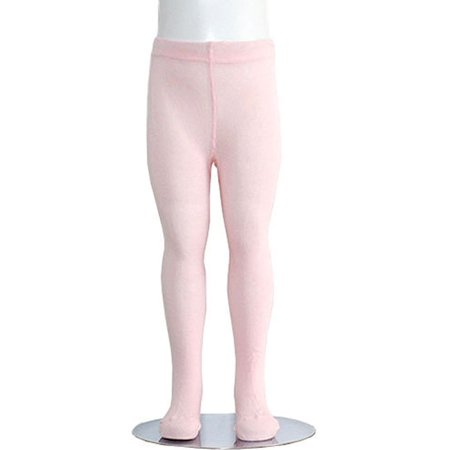 Heavyweight Spandex Tights - Light Pink Piccolo Heavyweight Opaque Toddler Little Girls Tights 2T-16