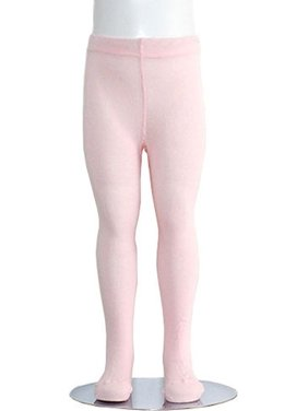 ee0acd25f10fe Product Image Light Pink Piccolo Heavyweight Opaque Toddler Little Girls  Tights 2T-16