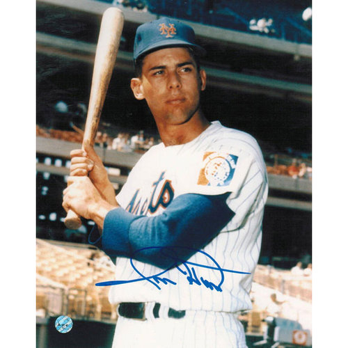 MLB - Ron Hunt New York Mets Autographed 8x10 Photograph - Pose-