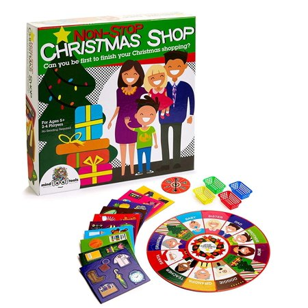 Christmas Games Non Stop Shopping Board Game Fun For Kids Ages 4 + And Family Time](Christmas Game Ideas)