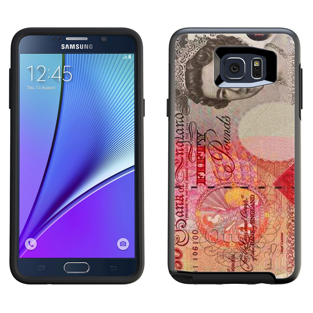 OtterBox Symmetry Samsung Galaxy Note 5 Case - English Fifty Pounds OtterBox Case