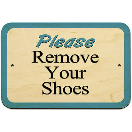 7187276e2efb6 Please Remove Your Shoes Sign