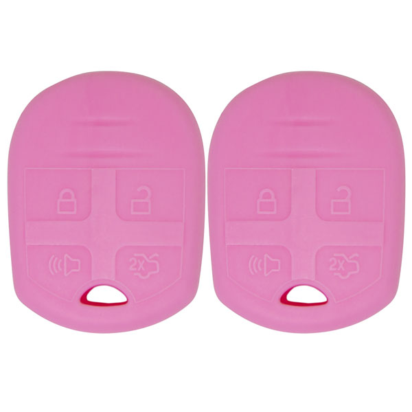 Keyless2Go New Silicone Cover Protective Cases for Remote Head Keys with FCC CWTWB1U793 - (2 Pack)