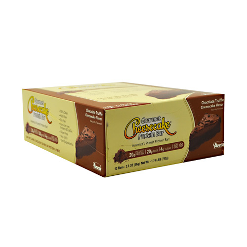 Advanced Nutrient Science INTL Gourmet Cheesecake Protein Bar Chocolate Cheesecake Flavor... by U-Nutra
