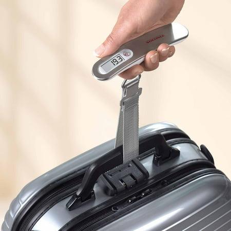 Soehnle Precision Digital Luggage Scale, 110 lb Capacity ...