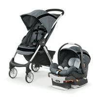 Chicco Mini Bravo Sport Travel System Stroller, Carbon