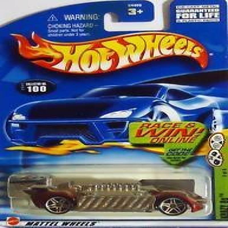 Hot Wheels Krazy 8s CODE CARD #100 (2002) by Mattel by