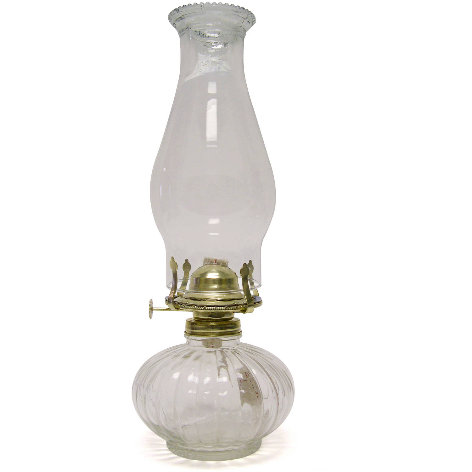 Florasense Glass Oil Lamp, Clear by Generic