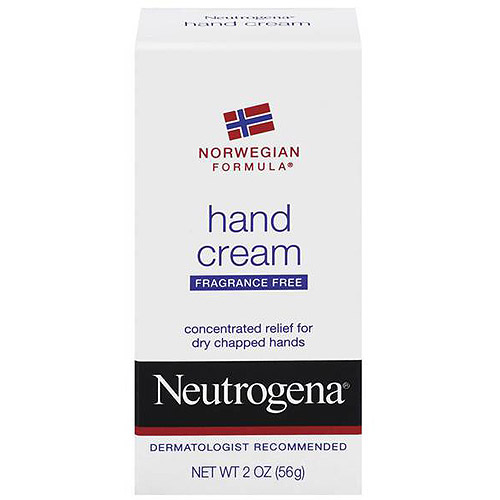 Neutrogena Hand Cream, Fragrance Free Norwegian Formula, 2 oz