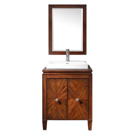 Avanity BRENTWOOD-VS25-NW Brentwood 25 in. Single Bathroom Vanity with Optional Mirror