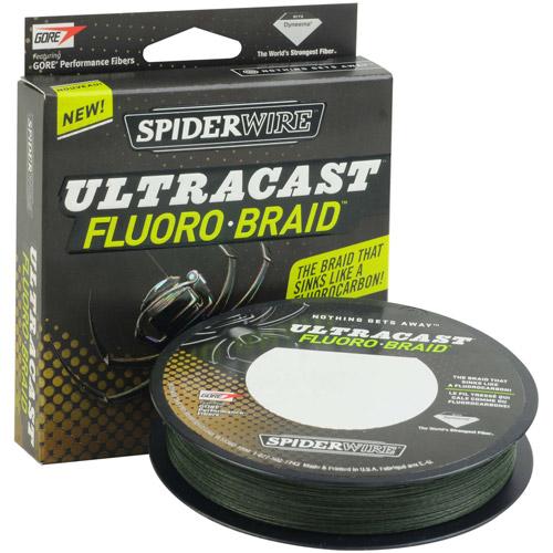 Spiderwire Ultracast FluoroBraid Fishing Line, 300 yd Spool