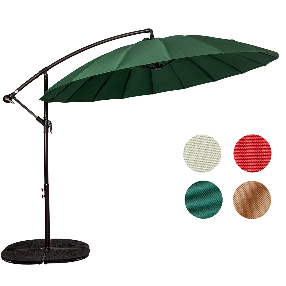 Sundale Outdoor 9 Feet Patio Offset Umbrella Cantilever