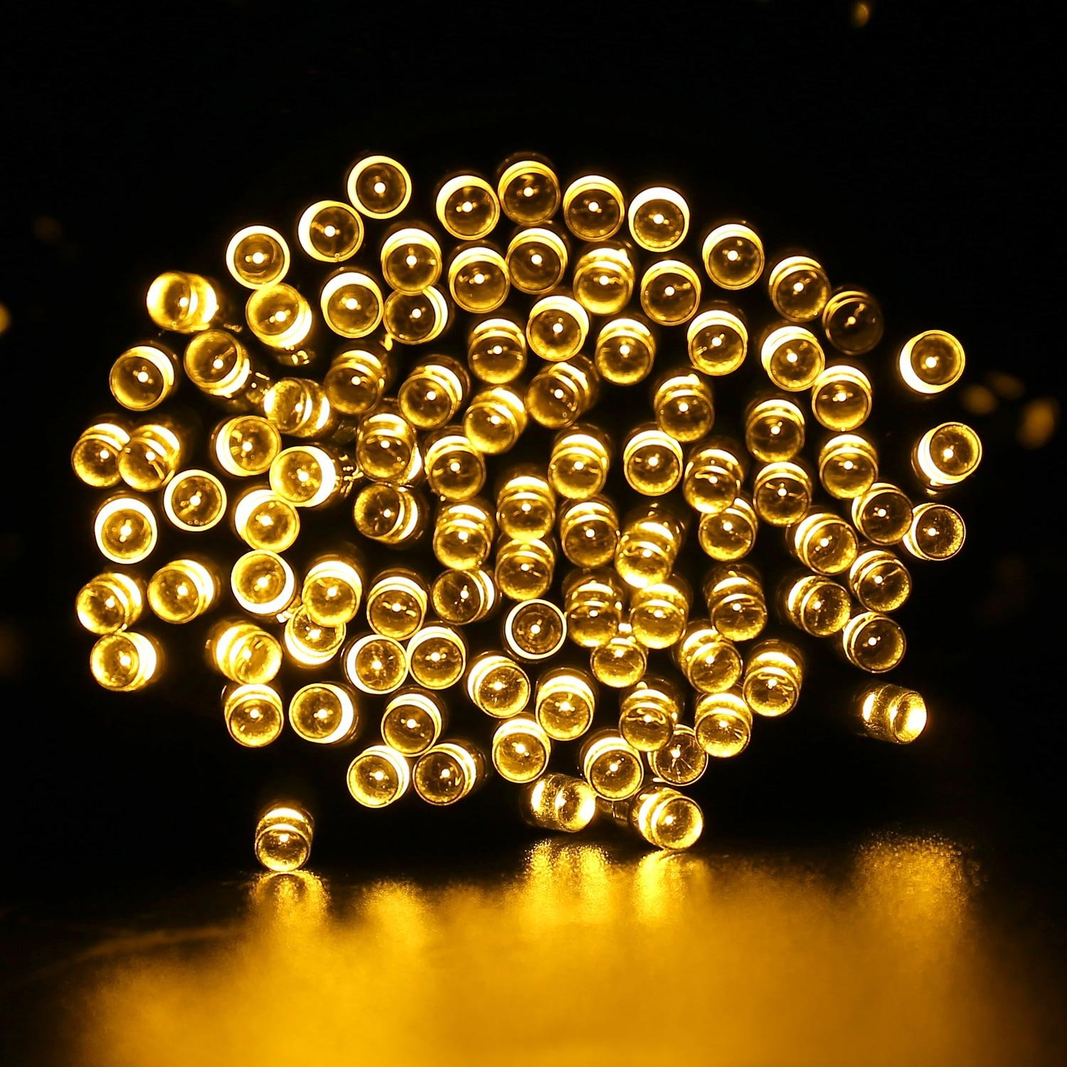 Solar powered led fairy lights for indoor or outdoor use outdoor qedertek 2 pack solar lights 72ft 200 led fairy garden string decorative lighting for home lawn aloadofball Choice Image