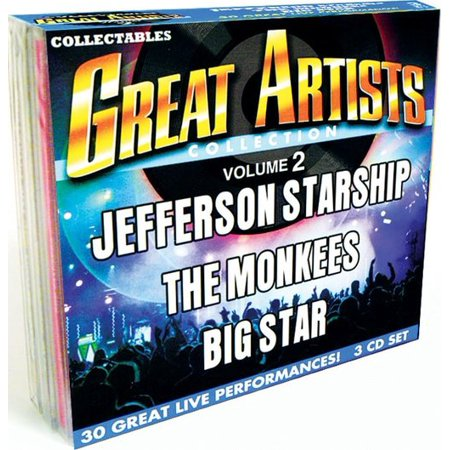 - Great Artists Collection Vol.2: Jefferson Starship Monkees & Big Star (3-Cd)
