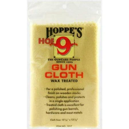 Hoppes No. 9 Wax Treated Gun Cloth