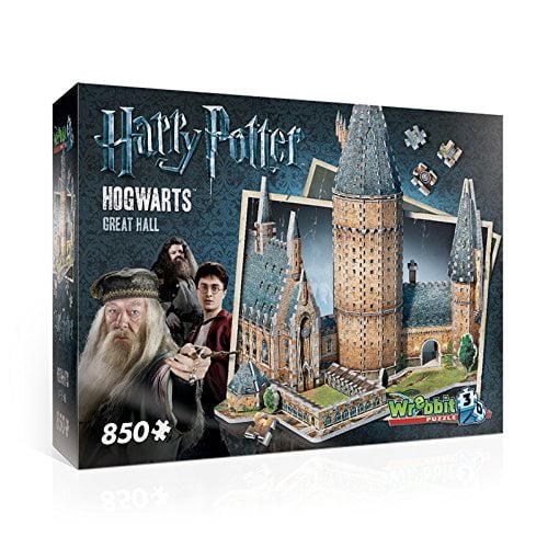WREBBIT 3D Hogwarts Great Hall 3D Puzzle (850 Piece) by WREBBIT 3D