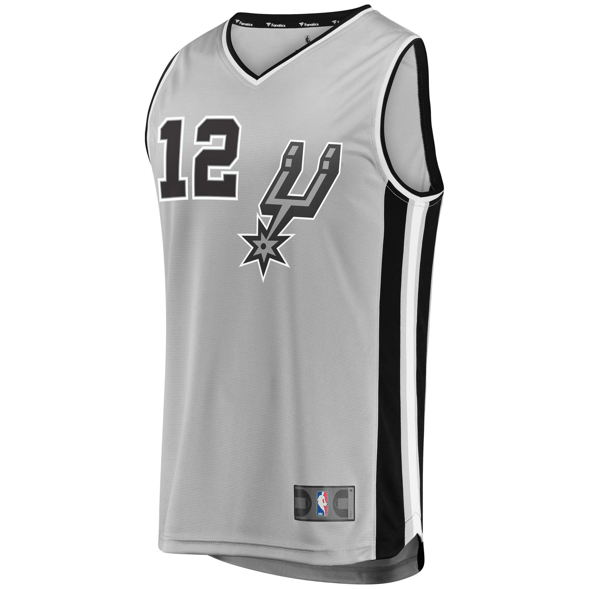 c962ce8a1b4 LaMarcus Aldridge San Antonio Spurs Fanatics Branded Fast Break Replica  Player Jersey - Statement Edition - Gray - Walmart.com