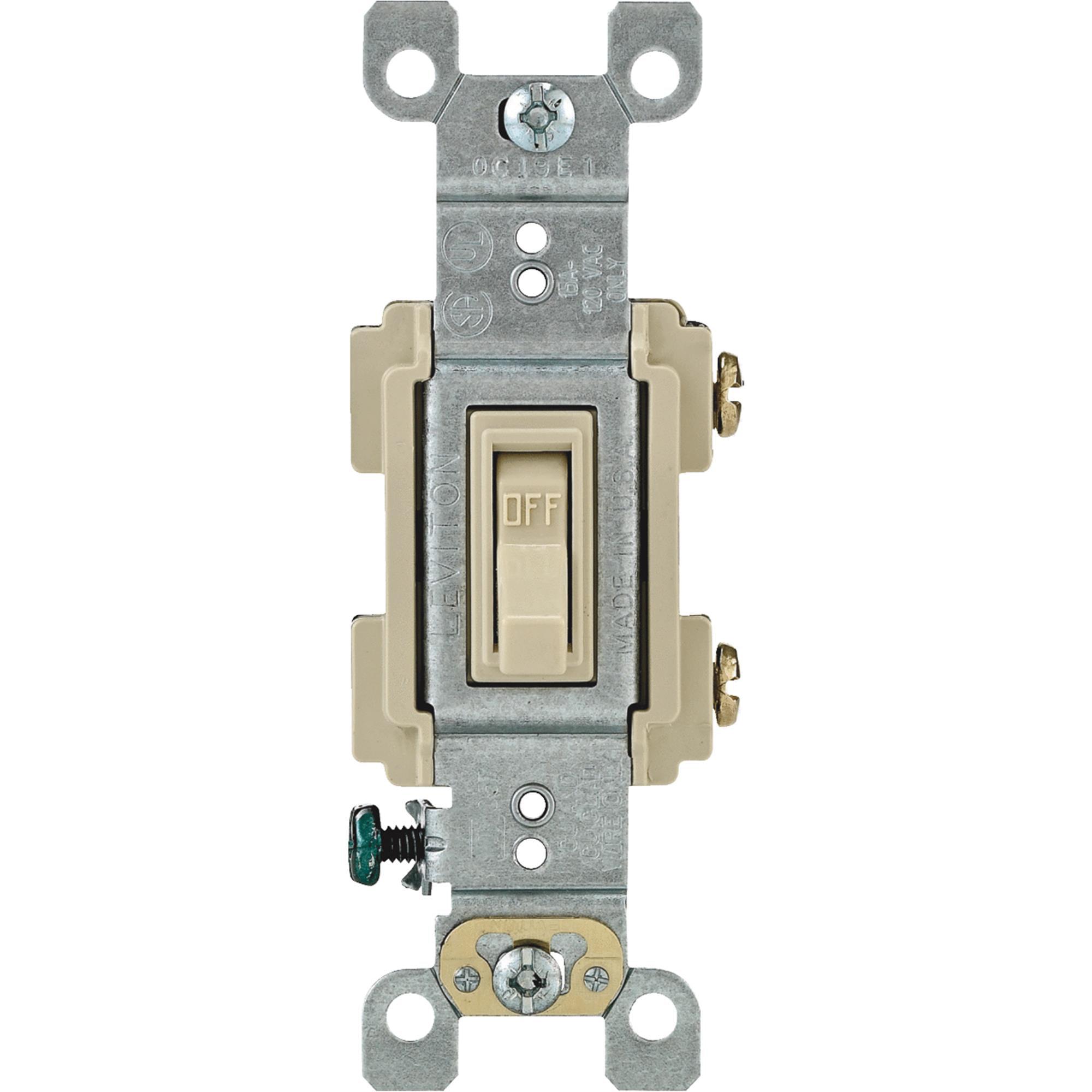 Leviton Residential Grade Toggle Single Pole Switch